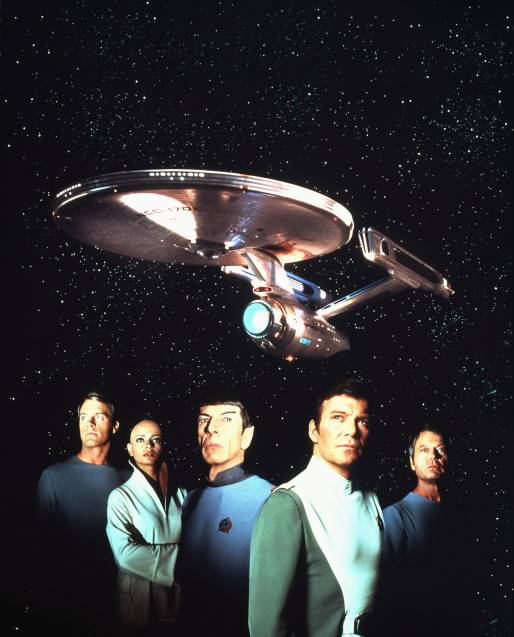Star Trek 1 - The Movie that bored the audiences of Star trek by taking 45 mins to leave the space dock.