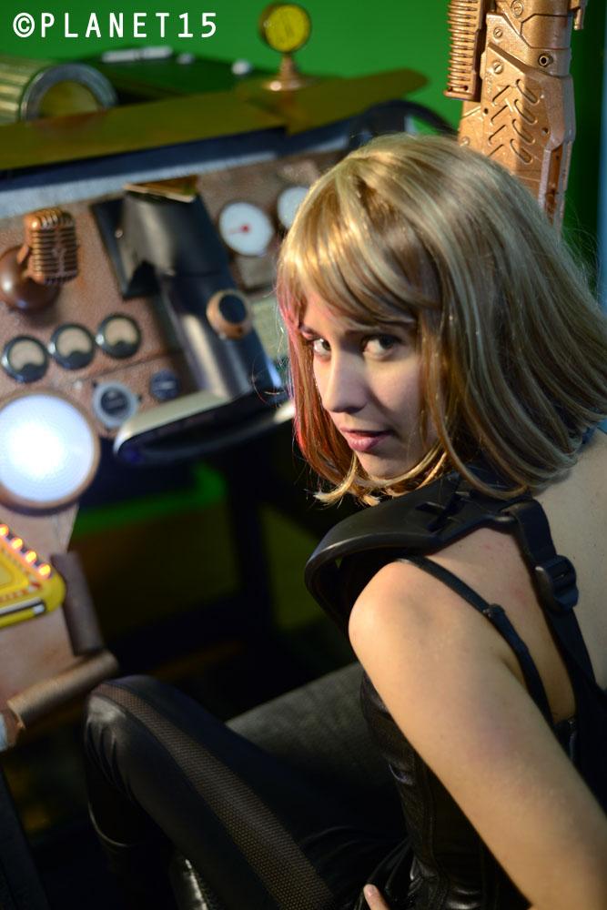 Claudia MacPherson gunner spaceship sci-fi science fiction movie TV